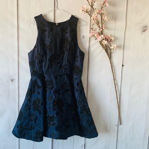 $700 NICHOLAS THE LABEL / FORMAL MINI PUFF DRESS